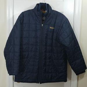 Timberland Quielted Blue Big Kid  Jacket
